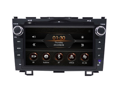 WG80003C For Honda CRV 2007-2011 Car Stereo DVD Player